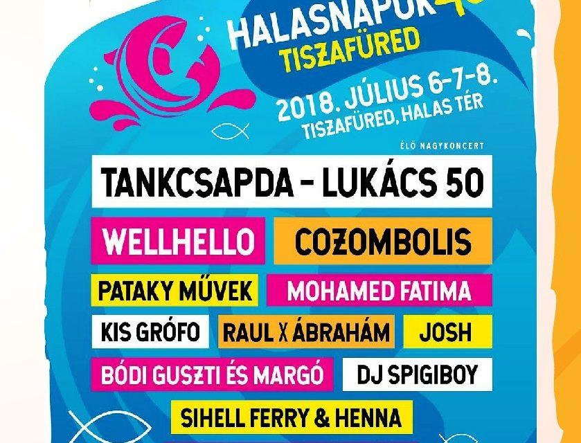 HALASNAPOK 2018